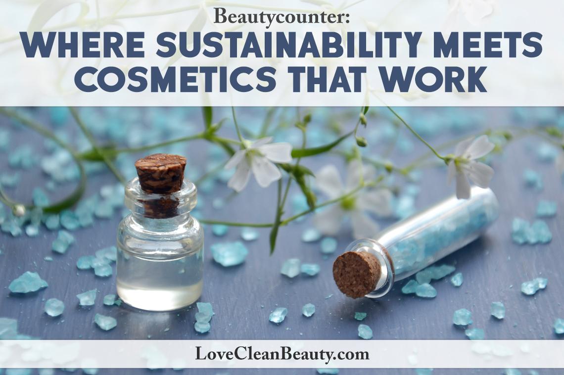 clean beauty brand: beautycounter