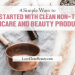 getting started with clean beauty