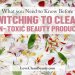 clean non toxic beauty guide