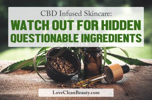 cbd infused skincare