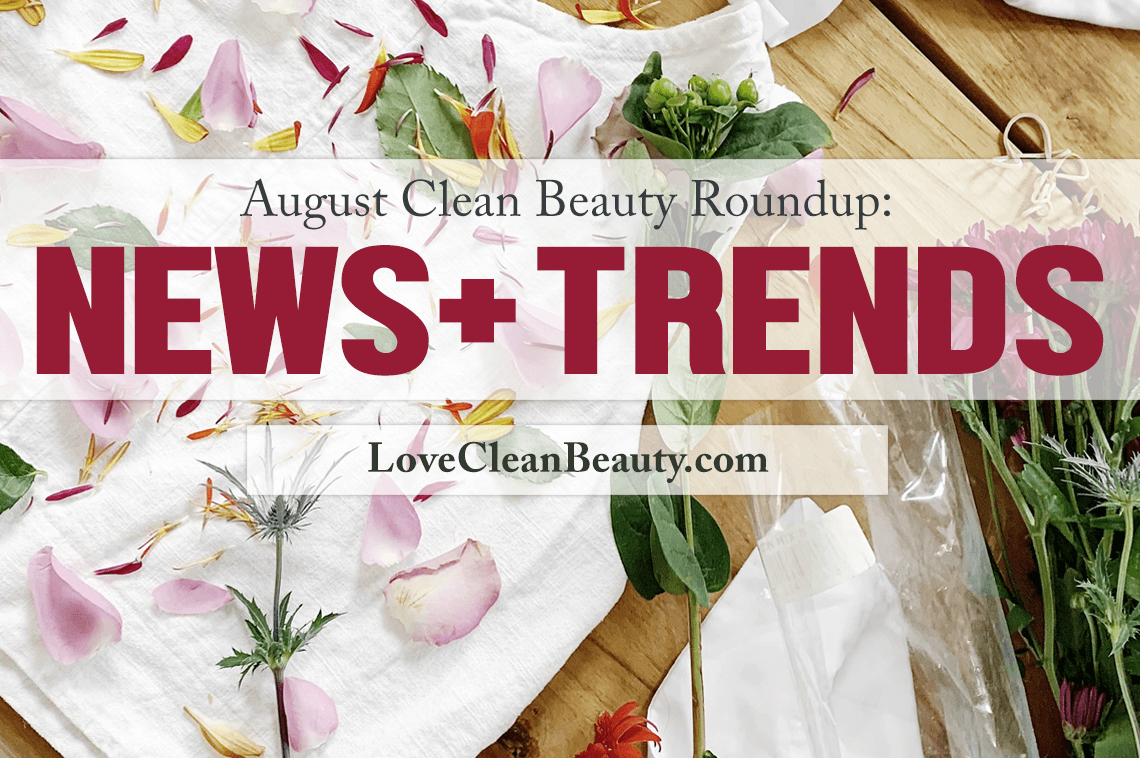 clean beauty news and launches