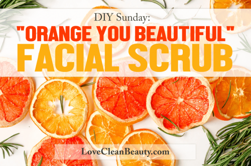 diy orange, vanila, honey, oats, facial scrub recipe