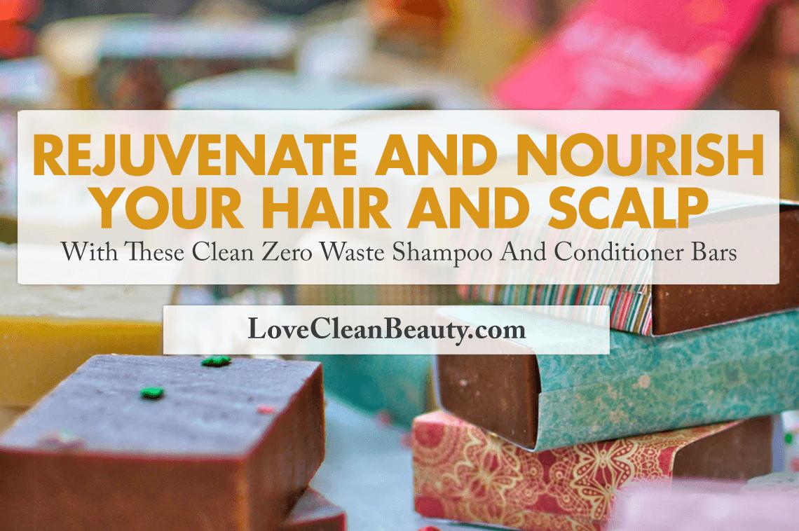 zero waste shampoo and conditioner bars