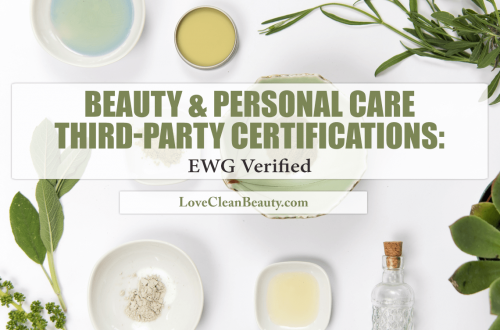 beauty third party certifications ewg verified