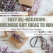 essential oil diy gifts