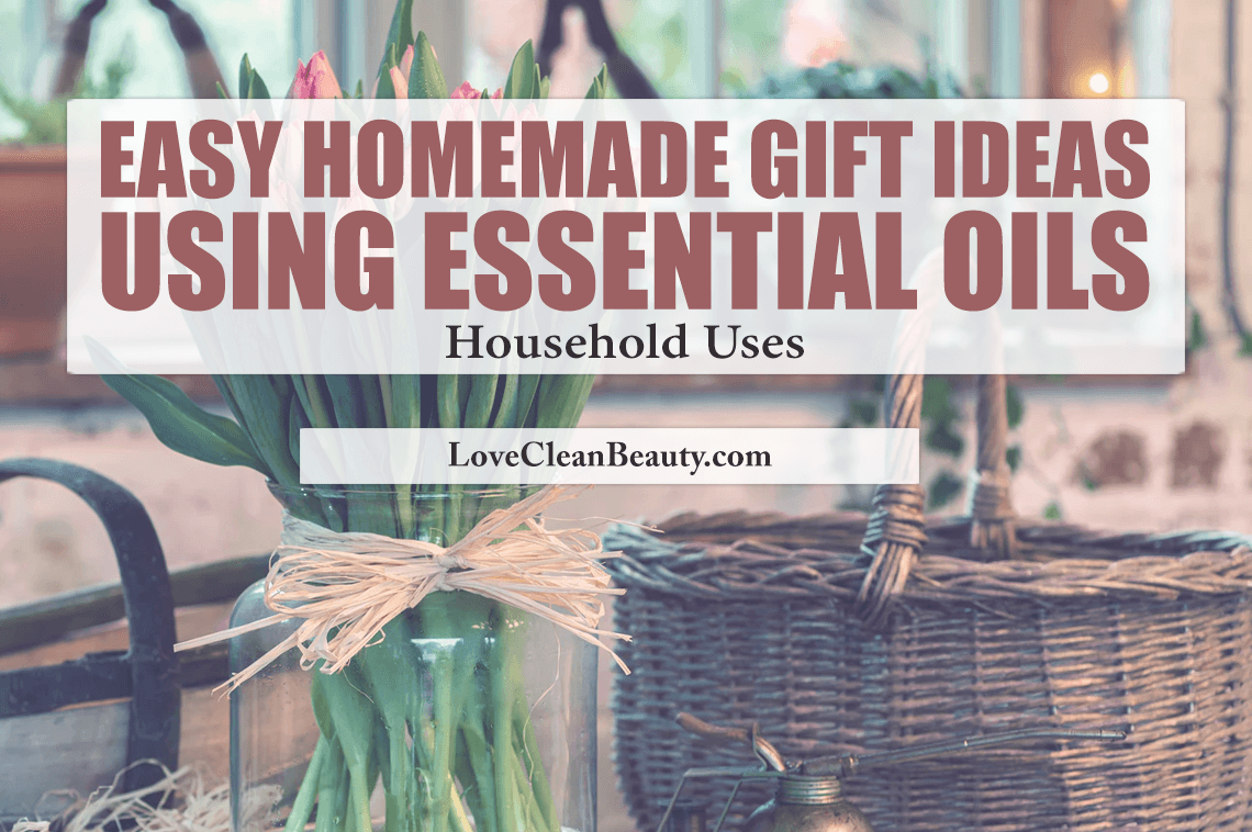 Cleaning and Home Essential Oil Recipes