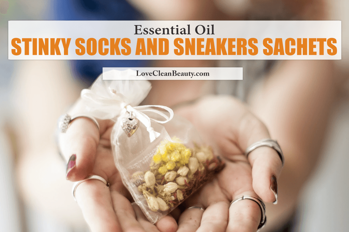 Essential Oil Stinky Socks and Sneakers Sachets