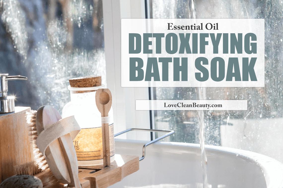 Essential Oil Detoxifying Bath Soak