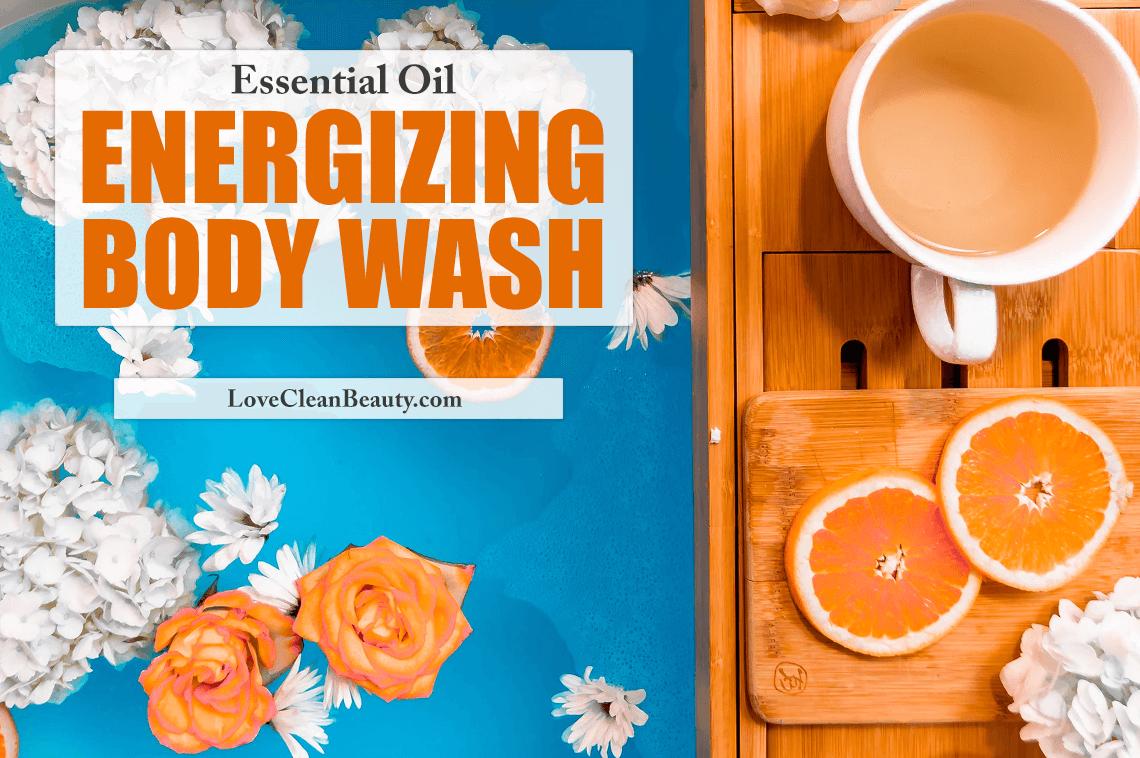 Essential Oil Energizing Body Wash