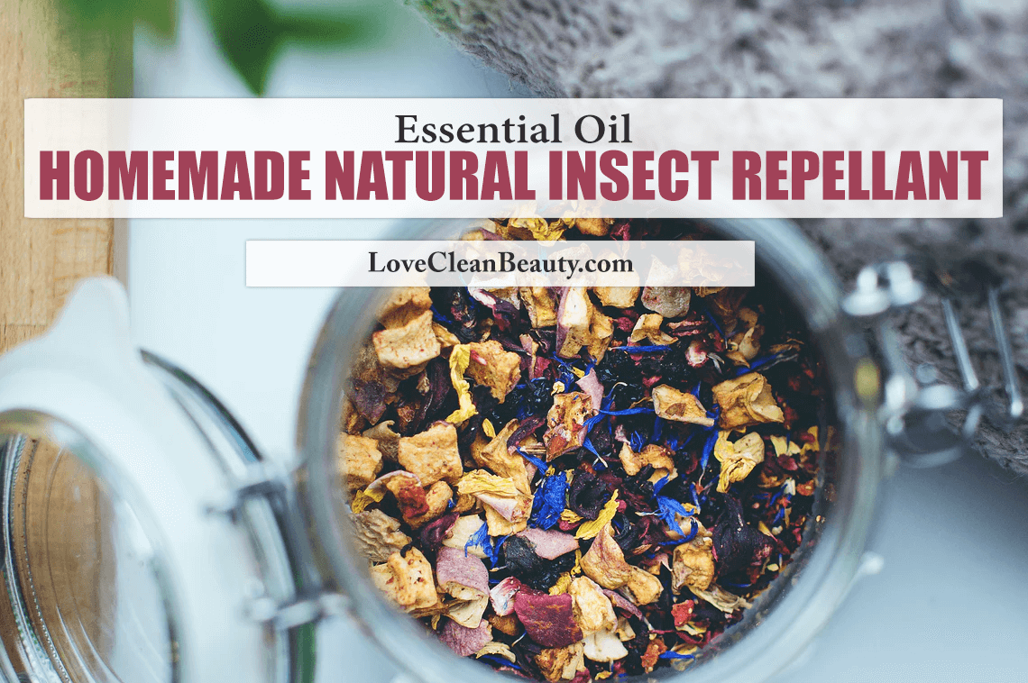 Essential Oil Homemade Natural Insect Repellant