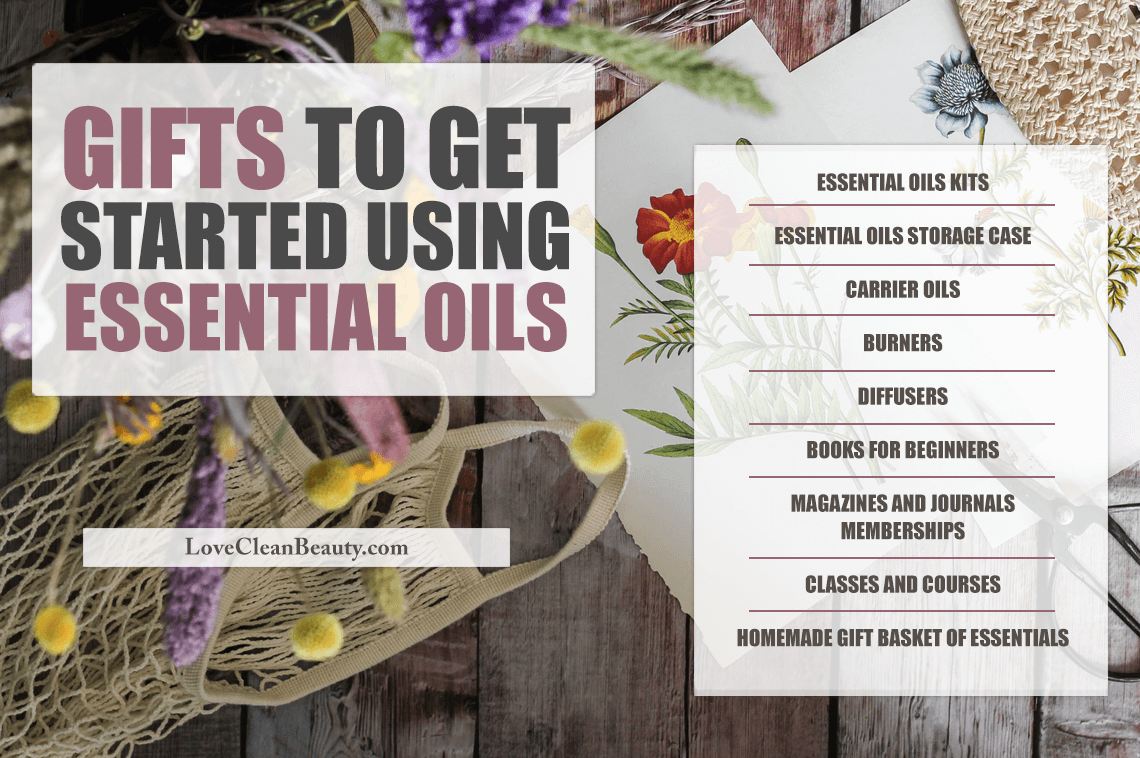 Types of essential oils gifts you can give