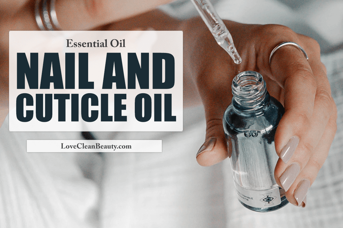 essential oils nail and cuticle oil