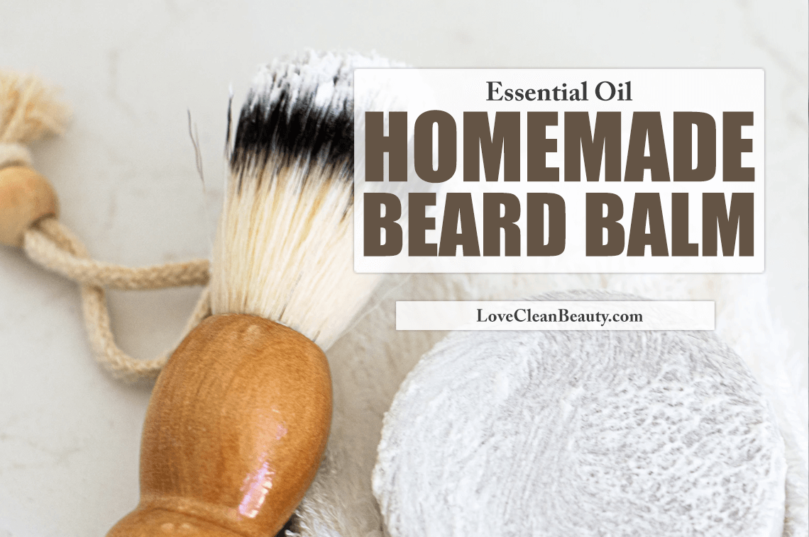 Homemade Beard Balm With Essential Oils