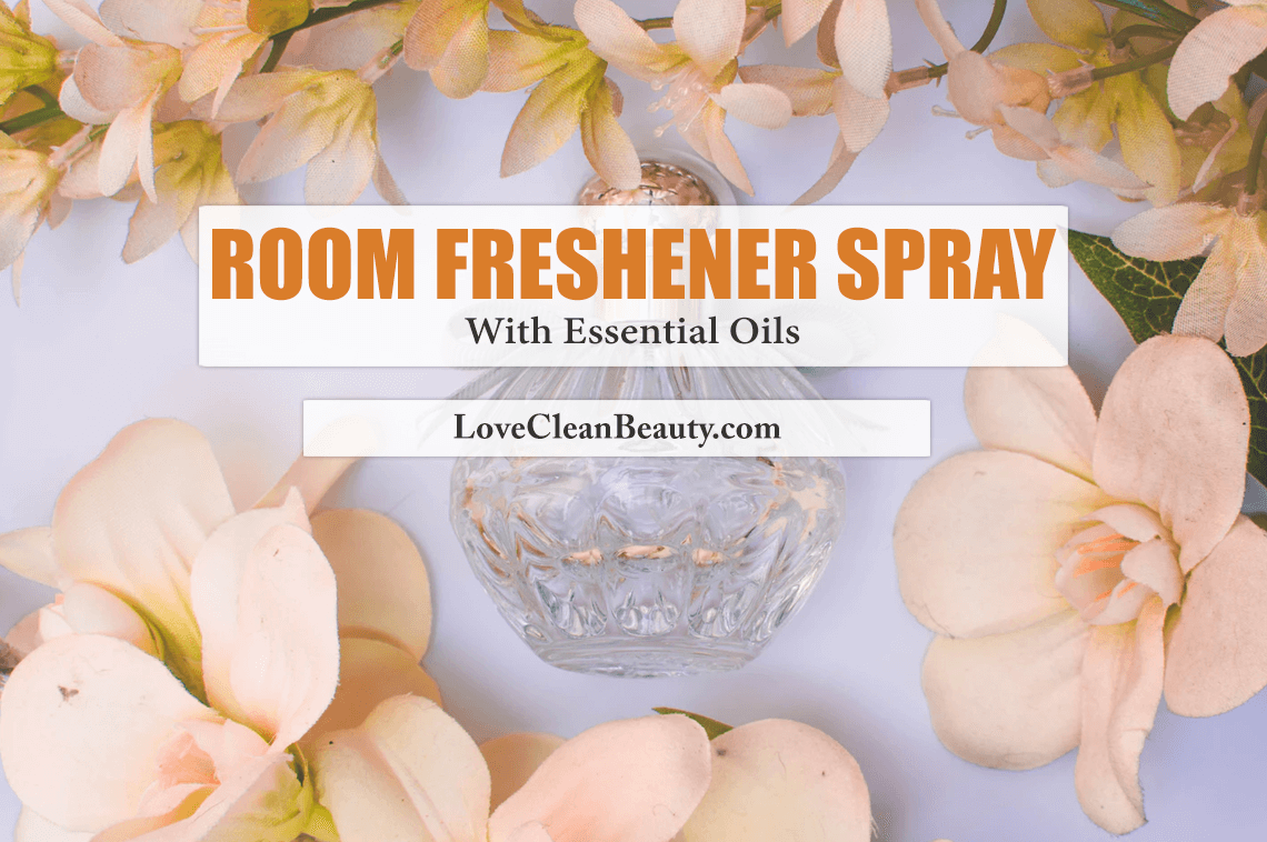 Room Freshener Spray With Essential Oils