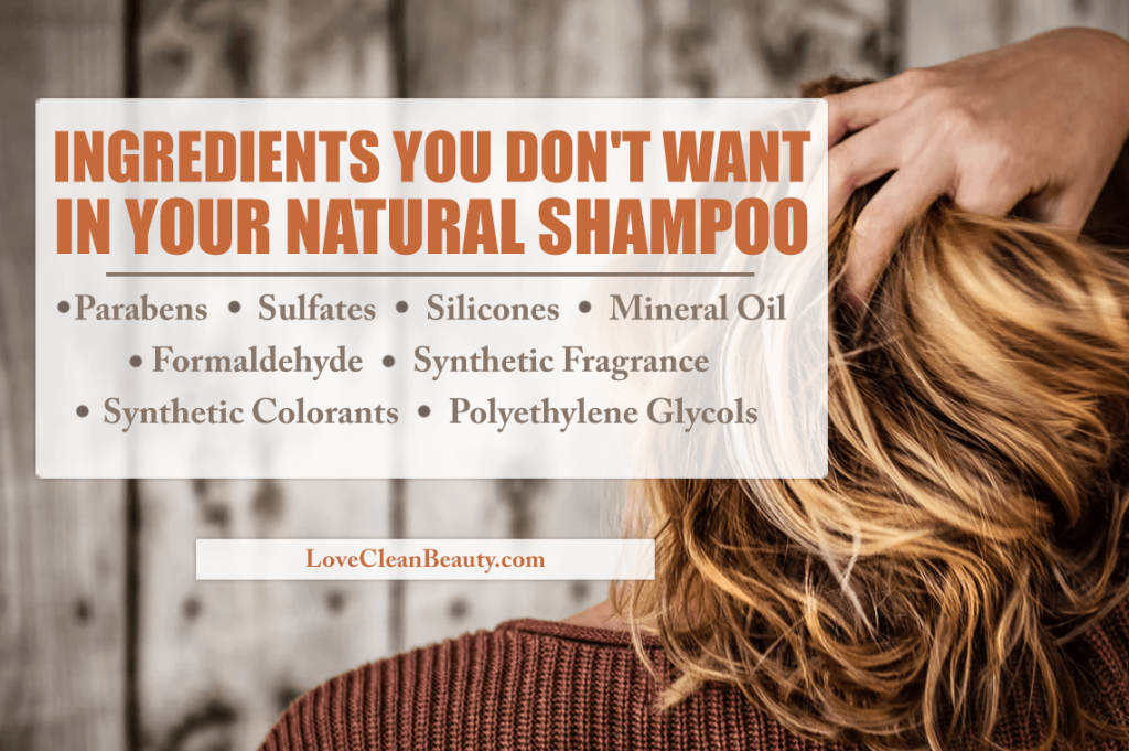 harsh chemicals in traditional shampoos